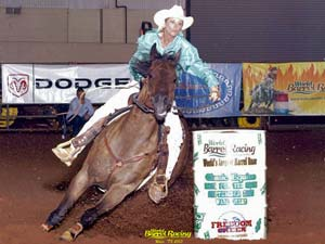 Elijah's Run son of One Slick One great barrel racing sire double bred Dash For Cash