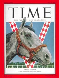 Native Dancer ~ Thoroughbred Preakness and Belmont Stakes Winner